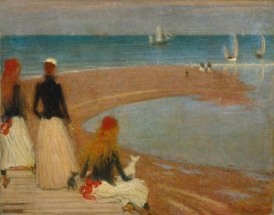 The Beach at Walberswick ?c.1889 by Philip Wilson Steer 1860-1942