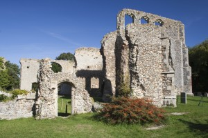 Ruins of the former St Andrew's Church, Walberswick, Suffolk, En